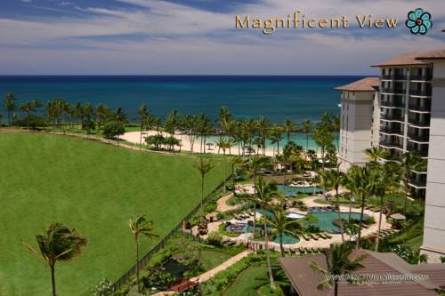 hotel Magnificent Two Bedroom Top Floor Beach Villa with Two Ocean View Lanais