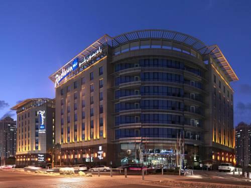 hotel Radisson Blu Hotel, Dubai Media City