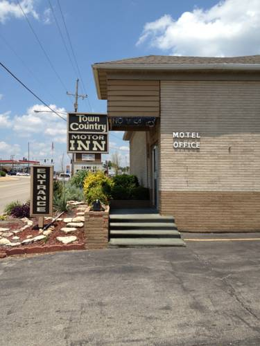 hotel Town and Country Motor Inn Mountain Home AR