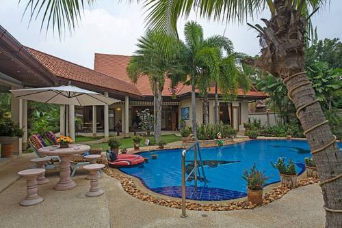 hotel Relaxing Palms Pool Villa 4 Bed