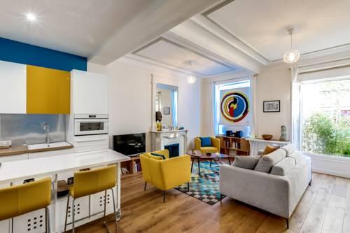 hotel En suite duplex Paris 16