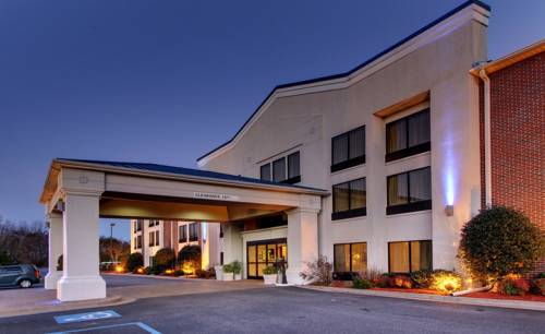 hotel Holiday Inn Express Dahlonega