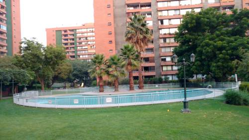 hotel Departamento Vitacura en Santiago