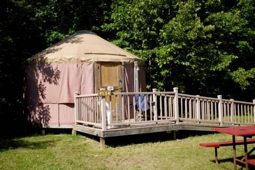 hotel Tranquil Timbers Yurt 4