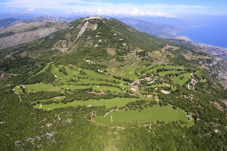 Overview of golf course named Monte-Carlo Golf Club