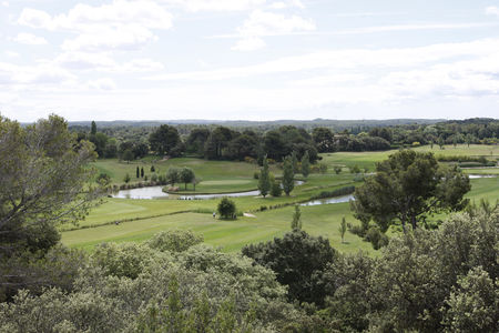 Overview of golf course named Golf Ouest Provence Miramas