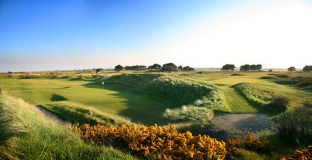 Overview of golf course named Portmarnock Golf Club