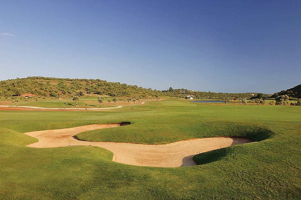 Overview of golf course named Alamos Golf Club