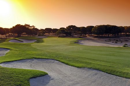Overview of golf course named Vale Do Lobo Royal Golf Course