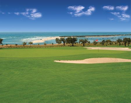 Overview of golf course named Quinta Da Ria Course
