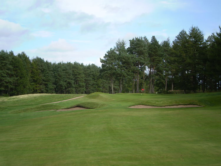 Forfar golf club cover picture