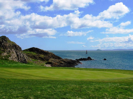 Overview of golf course named The Golf House Club, Elie