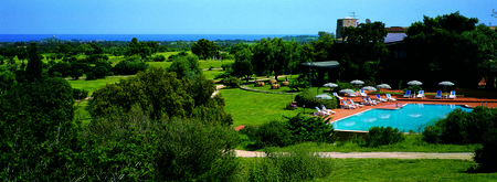 Overview of golf course named Circolo Golf Is Molas