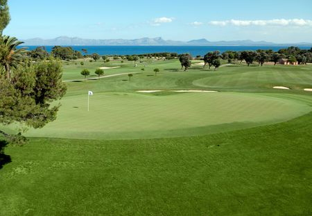 Overview of golf course named Club de Golf Alcanada