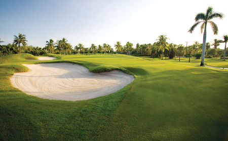 Overview of golf course named Crandon Golf at Key Biscayne