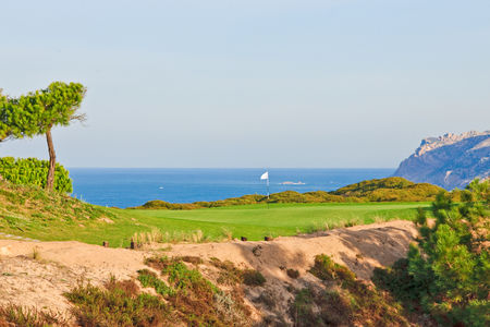 Overview of golf course named Oitavos Dunes