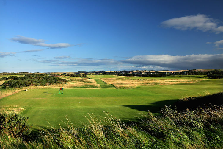 Saint andrews links cover picture