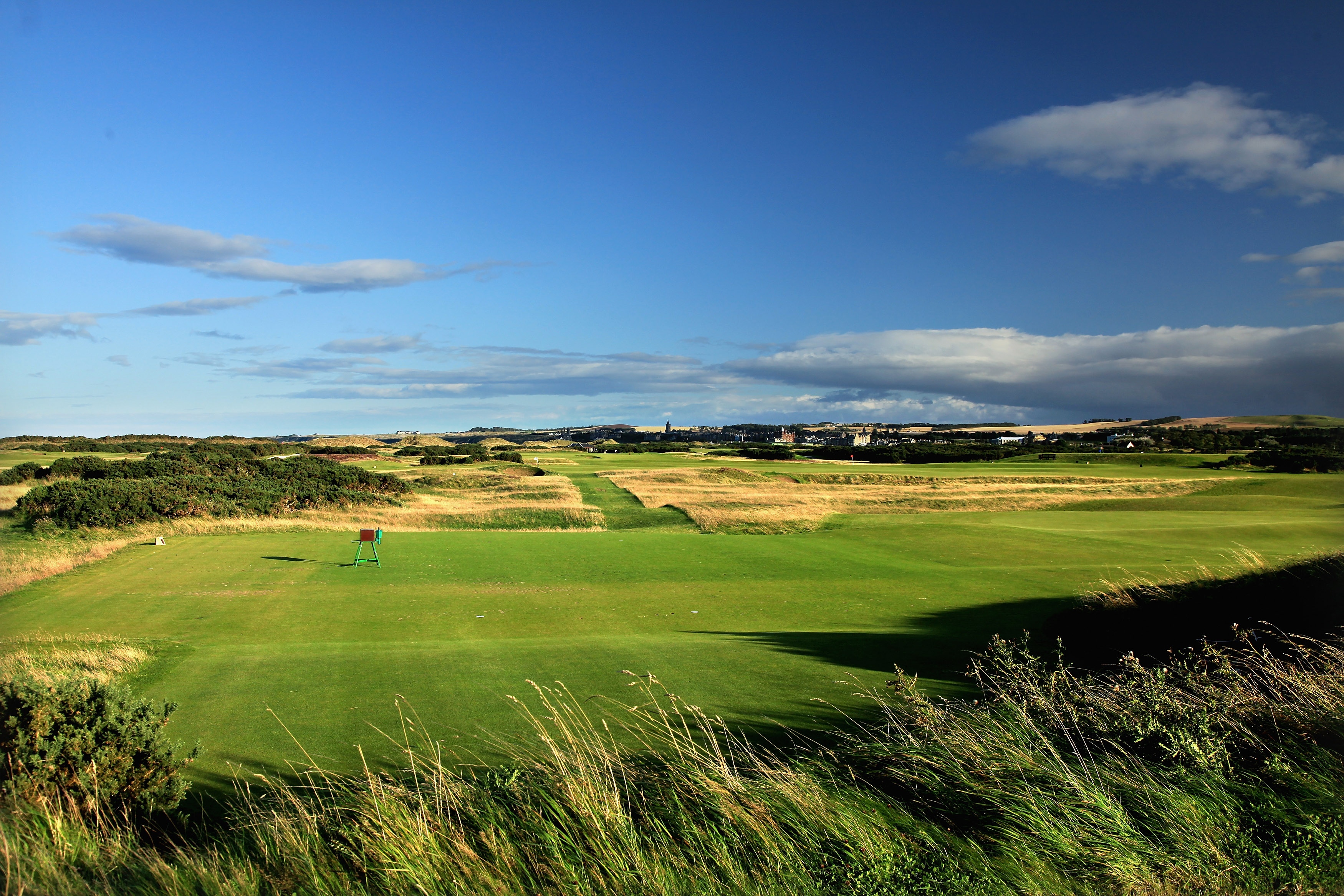 Overview of golf course named St Andrews - The Old Course