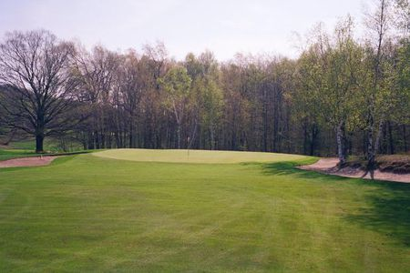 Overview of golf course named Crystal Downs Country Club