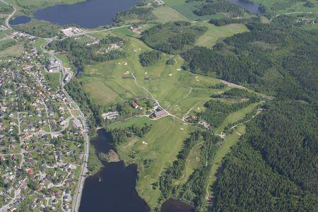 Overview of golf course named Ostmarka Golfklubb