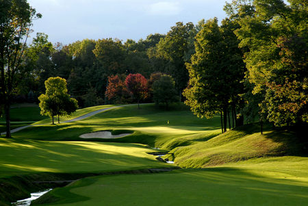 Overview of golf course named Muirfield Village Golf Club