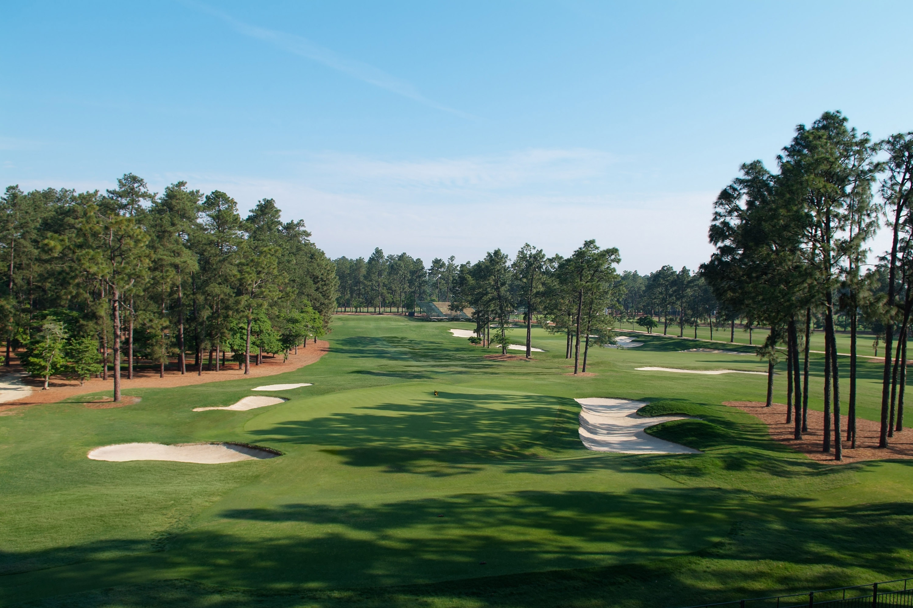 Overview of golf course named Pinehurst No. 2