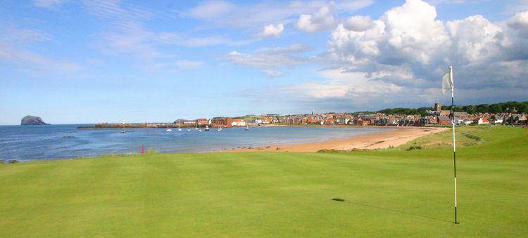 The north berwick golf club cover picture