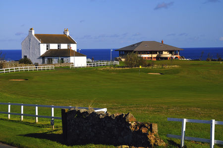 Overview of golf course named Eyemouth Golf Club