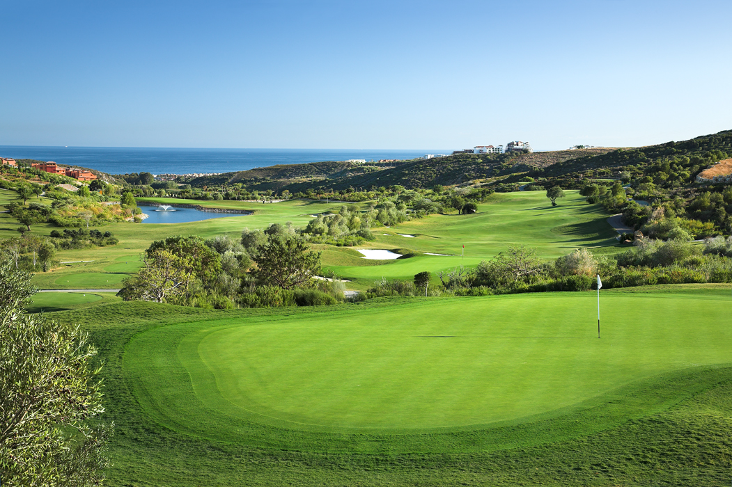 Cover of golf event named Finca Cortesin Easter Tournament