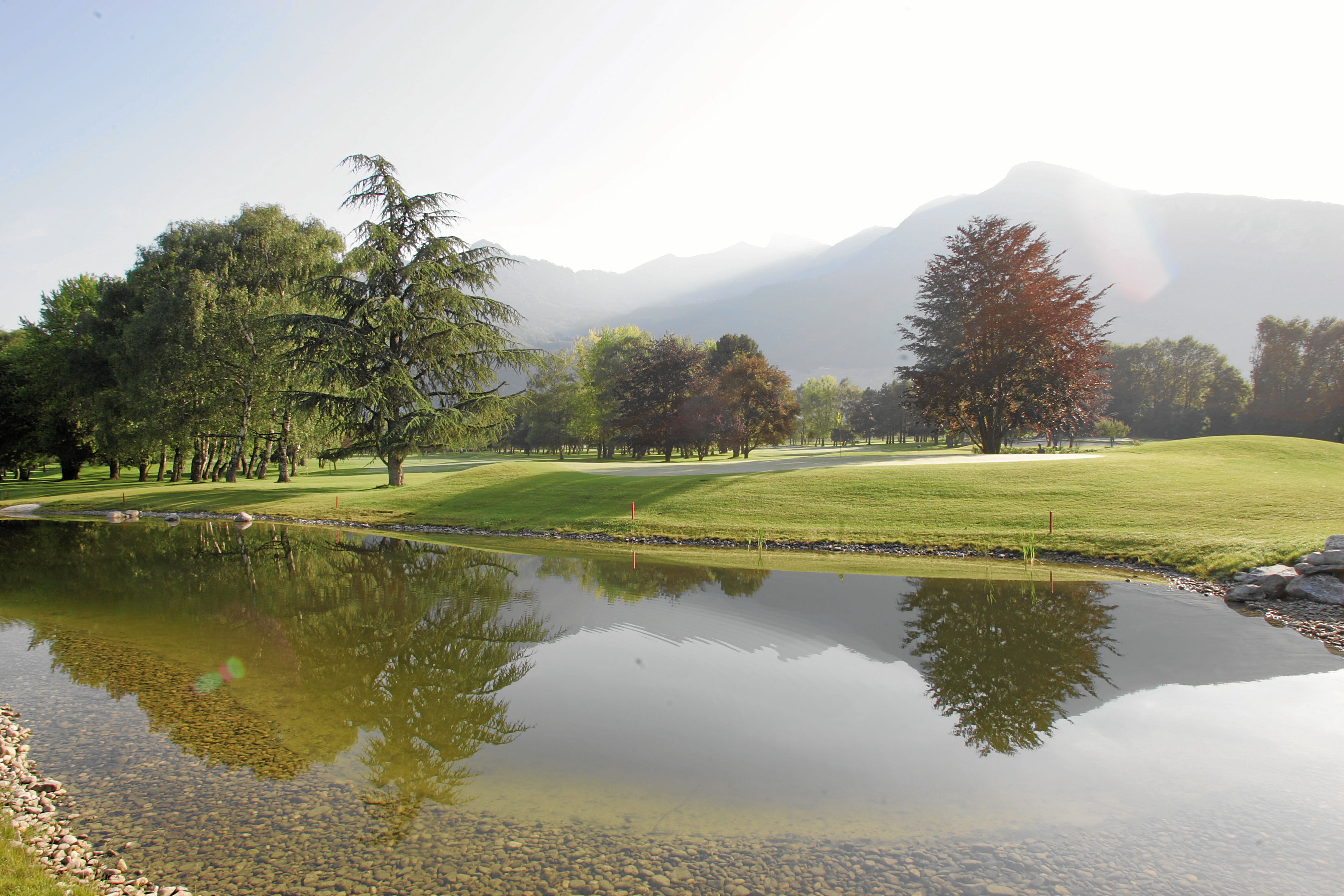 Overview of golf course named Golf Club Montreux