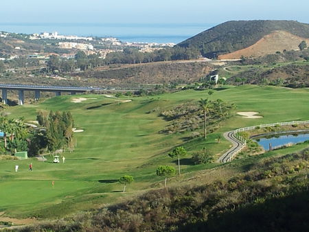 Overview of golf course named Calanova Golf Club