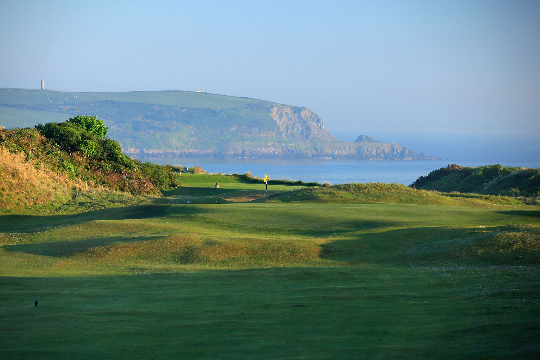 Saint enodoc golf club cover picture