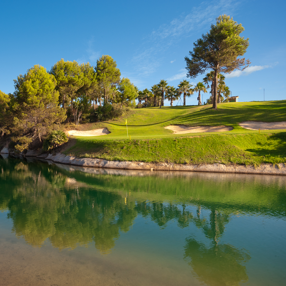 Overview of golf course named Alhaurin Golf