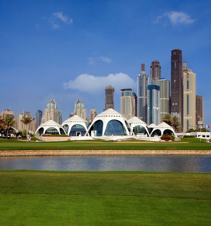 Emirates golf club cover picture