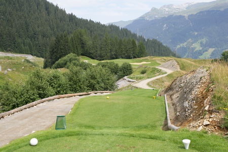Overview of golf course named Golf Club Klosters