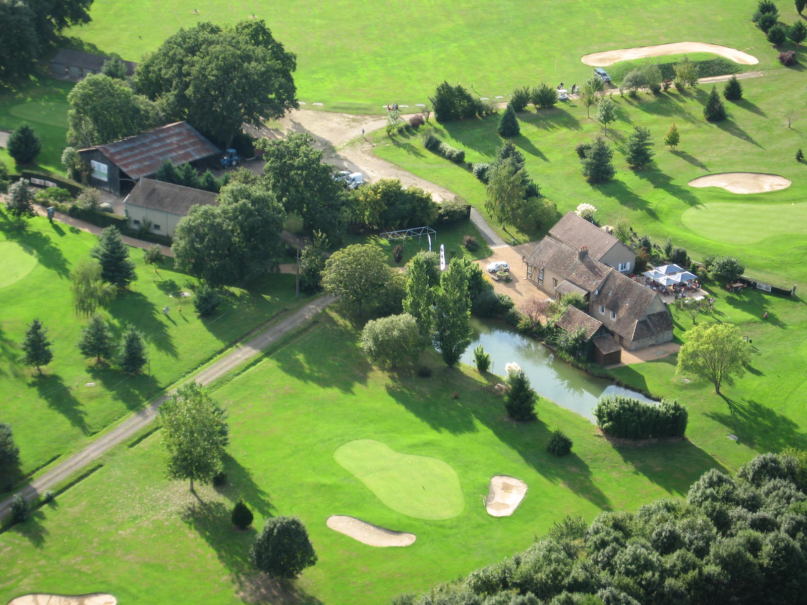 Overview of golf course named Mansgolfier Golf Club