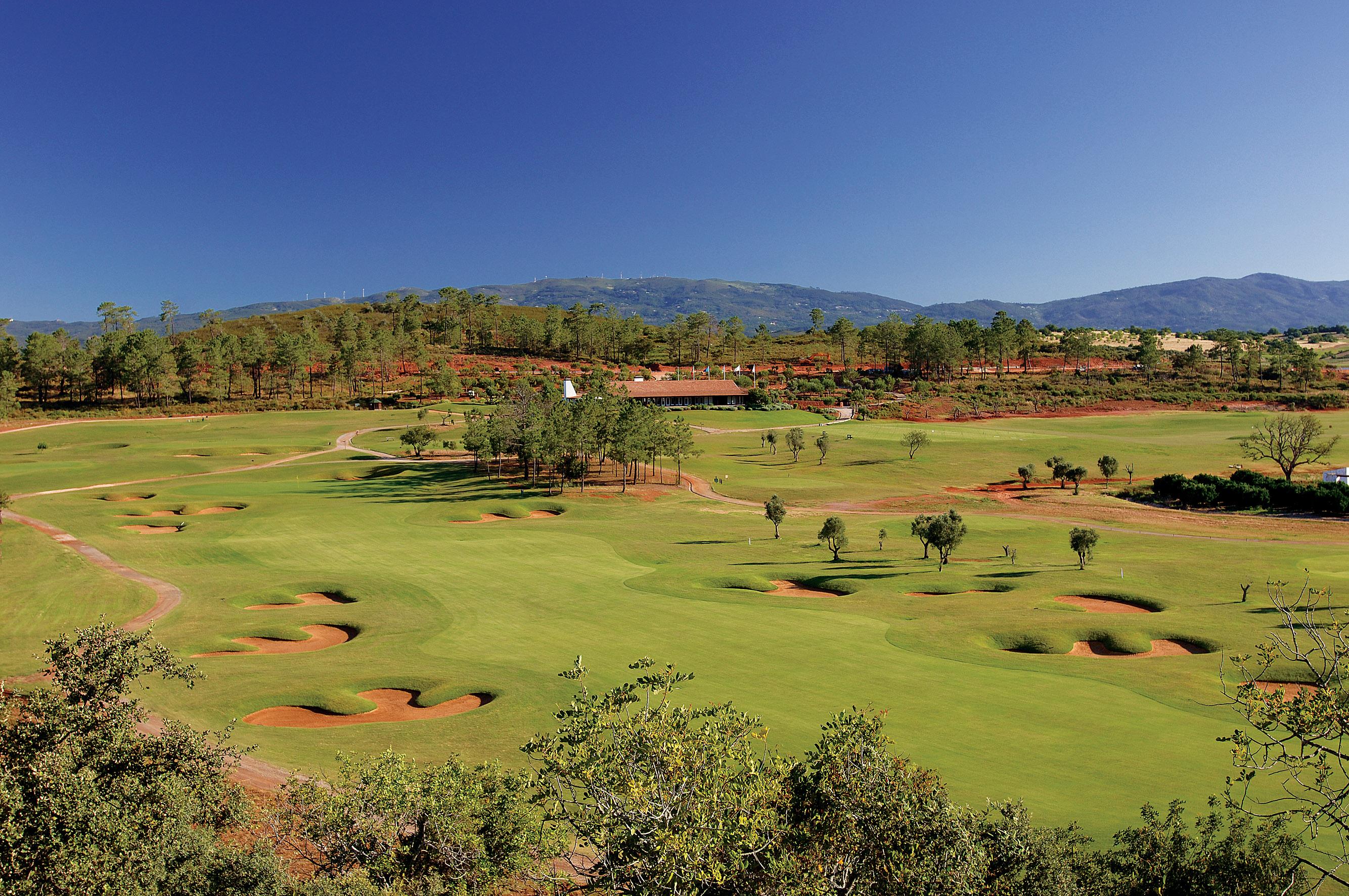 Overview of golf course named Morgado Do Reguengo Resort