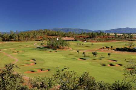 Overview of golf course named Morgado Do Reguengo Resort