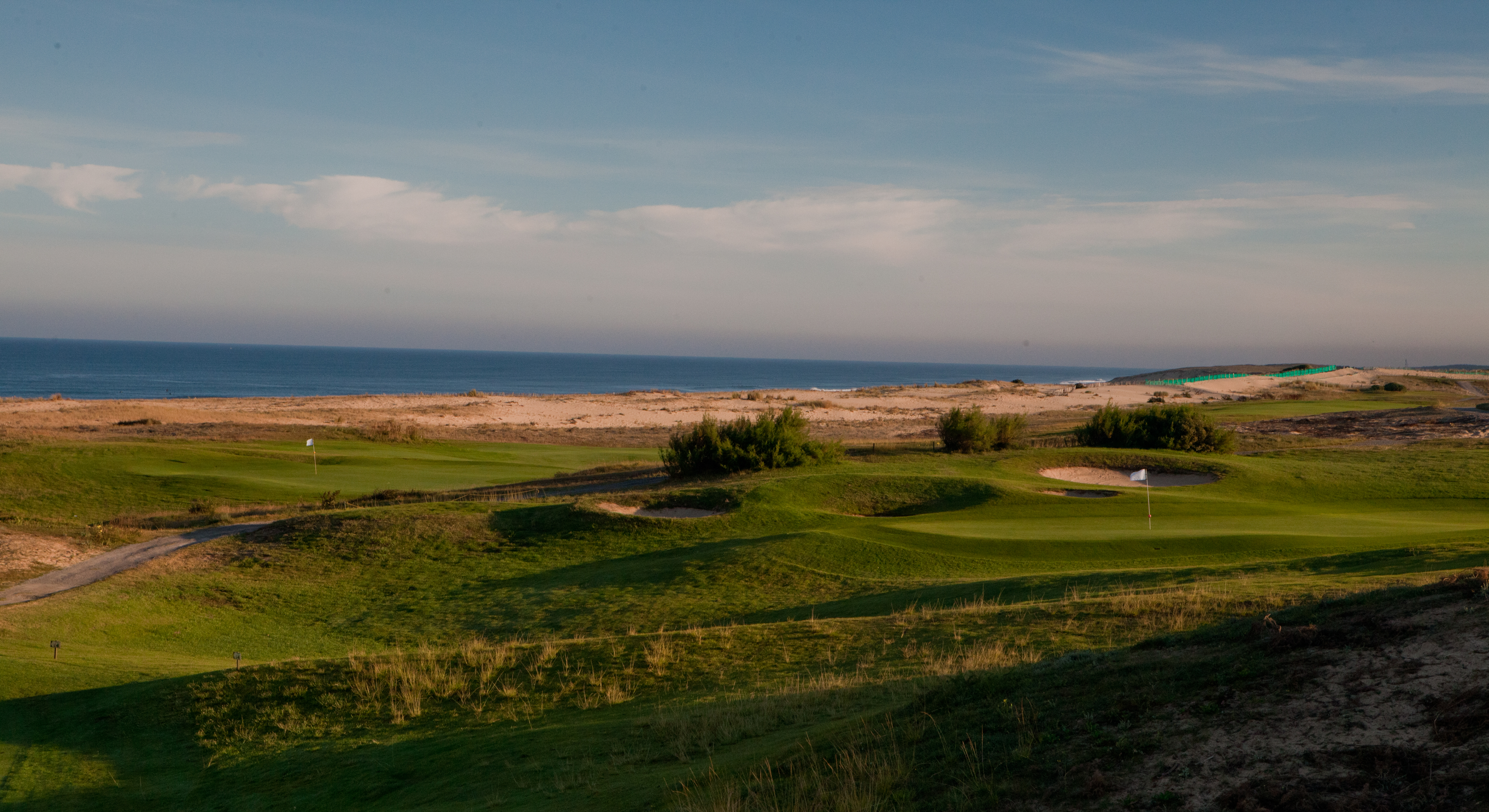 Overview of golf course named Golf de Moliets