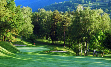 Overview of golf course named Menaggio E Cadenabbia Golf Club Asd