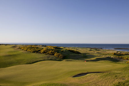 Overview of golf course named Kingsbarns Golf Links