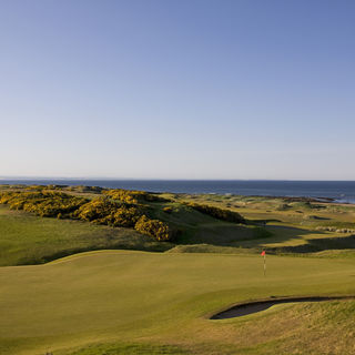 Kingsbarns golf links cover picture