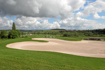 Overview of golf course named Bern Golf Club