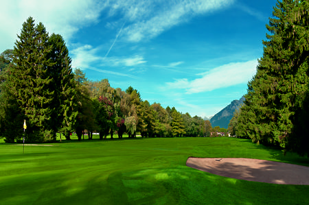 Overview of golf course named Golf Club Bad Ragaz