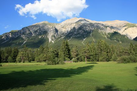 Overview of golf course named Golf Club Lenzerheide