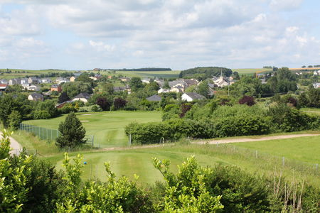 Overview of golf course named Golf and Country Club Christnach