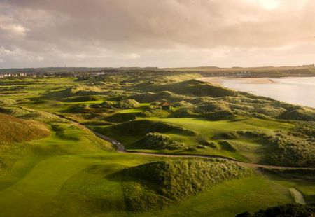 Overview of golf course named Cruden Bay Golf Club