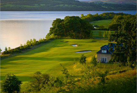 Overview of golf course named The Carrick on Loch Lomond Golf and Spa Resort