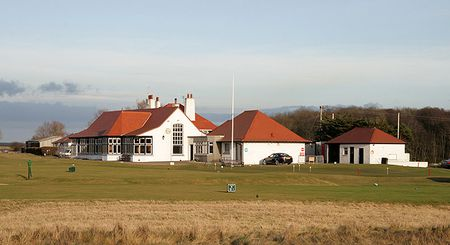 Overview of golf course named Luffness New Golf Club