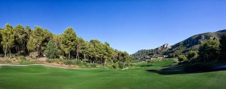 Overview of golf course named La Galiana Campo de Golf